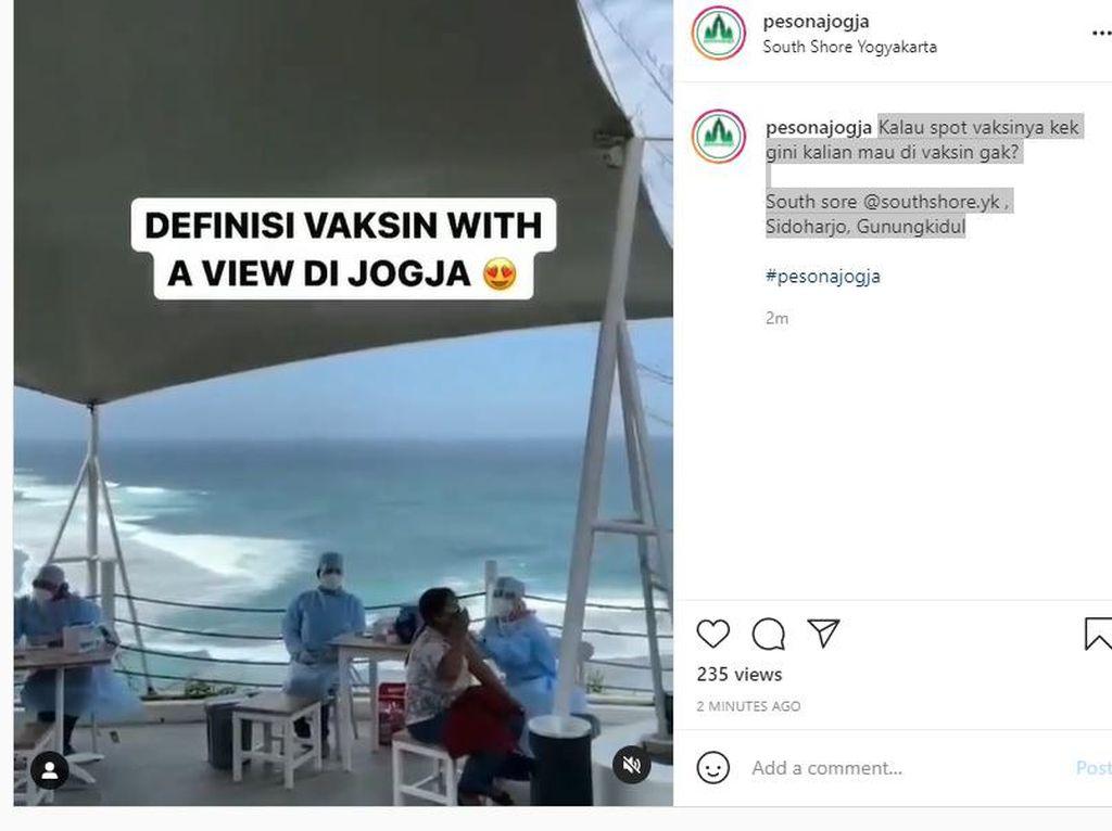 Sandiaga Puji Pengelola Wisata Vaksin With a View di Yogyakarta