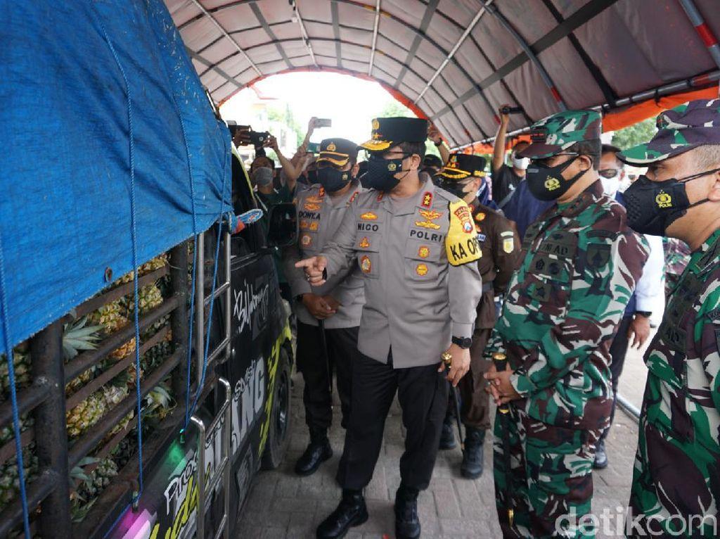Lalu Lintas di Jalan Nasional Mojokerto Dibagi ke Tol Selama PPKM Darurat