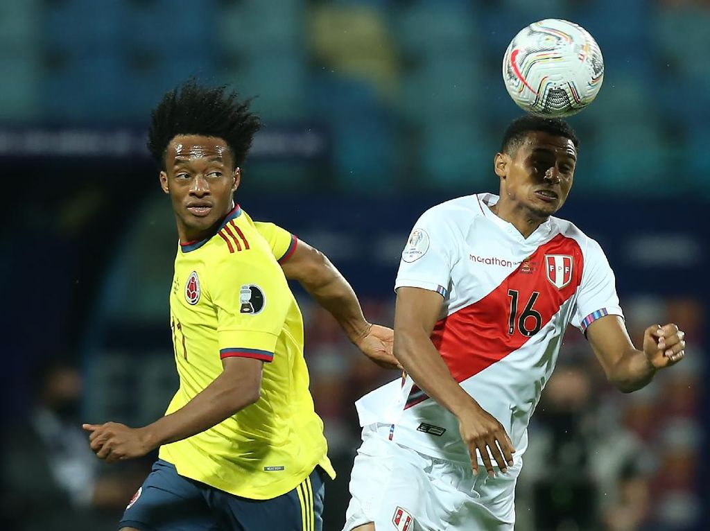 Jadwal Copa America 2021: Kolombia Vs Peru Rebutan Perunggu