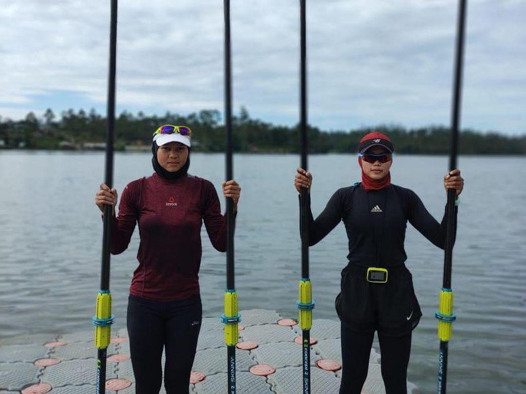 Calon Guru Asal Karawang Andalan Indonesia di Rowing Olimpade Tokyo
