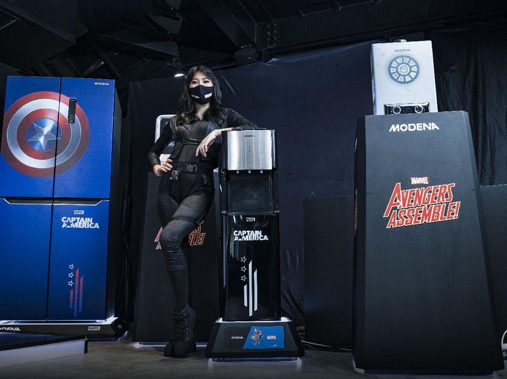 Iron Man, Captain America dan Black Widow Serbu Dapur Indoneisa