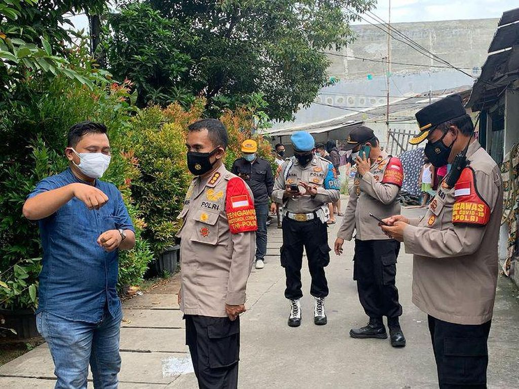 Di Cilincing Ada Warga Isoman Diintimidasi Tetangga, Polisi Turun Tangan
