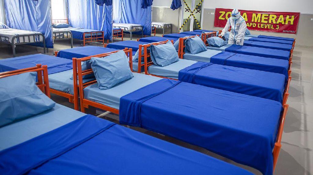 Marinir Siapkan Ruang Isolasi Corona