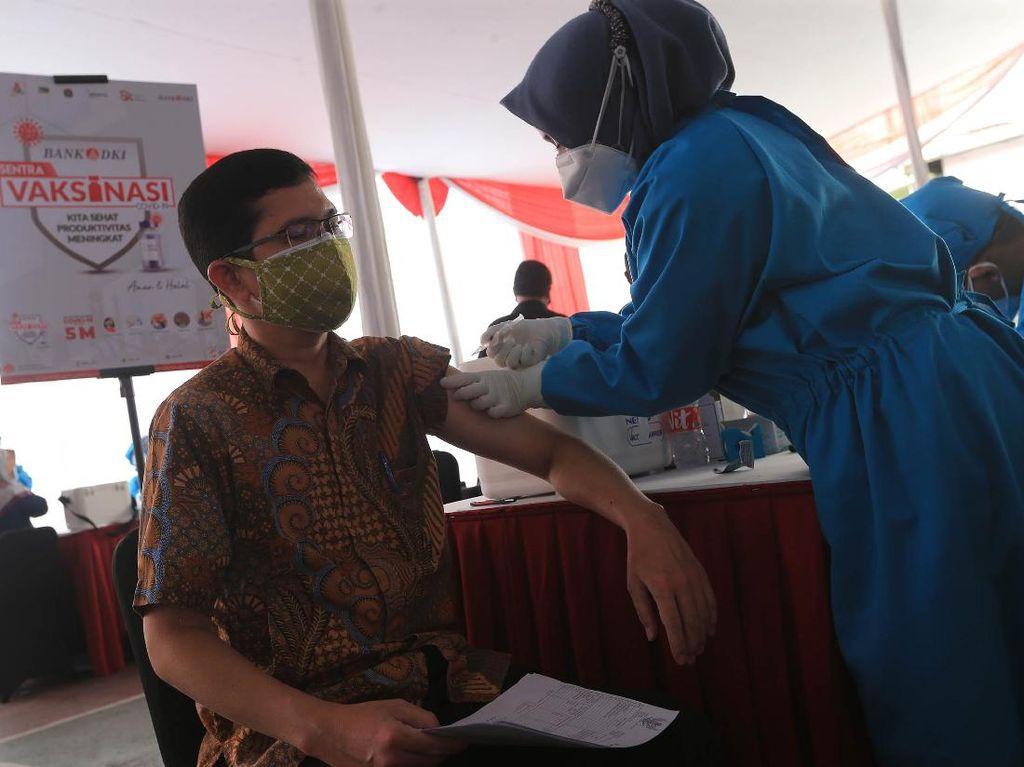Bank DKI Gelar Vaksinasi Gratis Dosis Kedua Warga Bisa Daftar Lewat JAKI