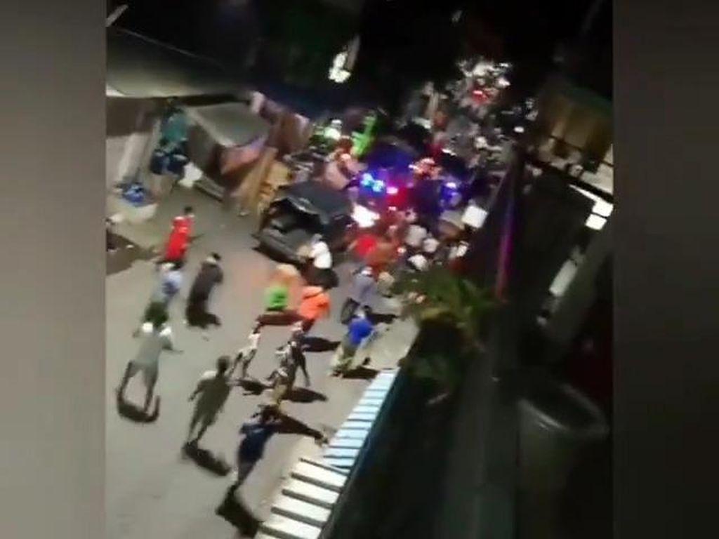 Razia PPKM Darurat di Surabaya Ricuh! Warga Usir Petugas