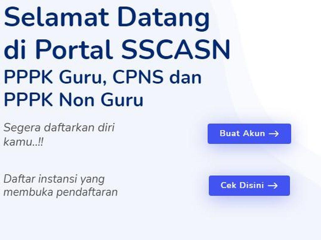 Situs Pengumuman CPNS SSCASN BKN Tak Bisa Diakses