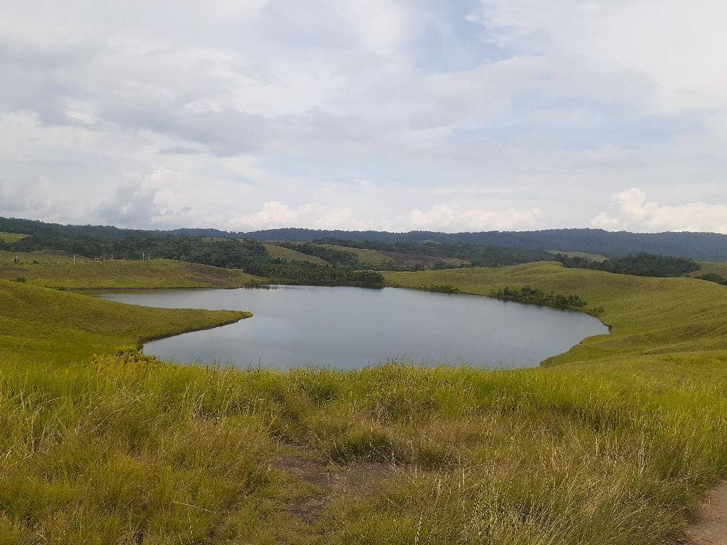 Danau Love Punya View Magis, tapi Sayang Tidak Terawat