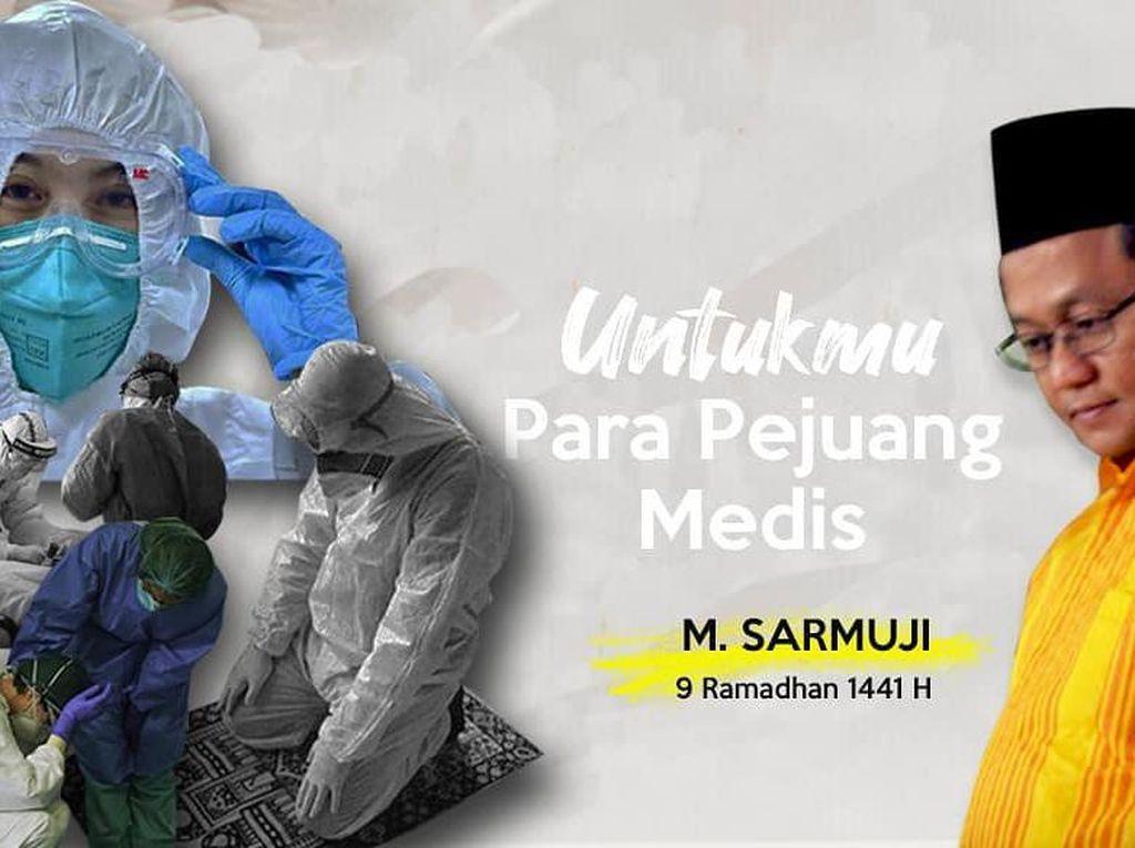 Unggah Puisi buat Nakes di Medsos, Golkar Jatim: Representasi Doa Kami