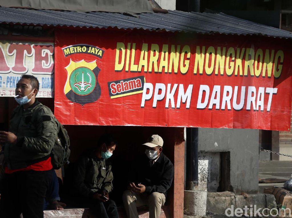 Deretan Perlawanan Pedagang ke Aparat Selama PPKM Darurat