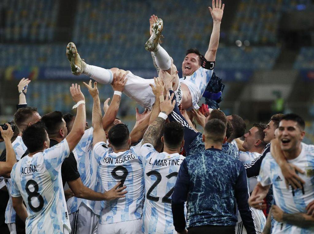 Brasil Keok 0-1, Argentina Juara Copa America!