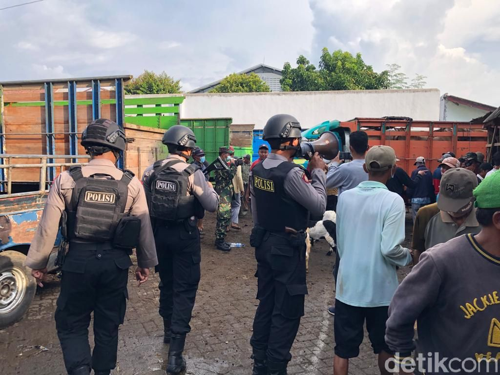 Pasar Hewan di Probolinggo Jadi Fokus Operasi Yustisi Jelang Idul Adha