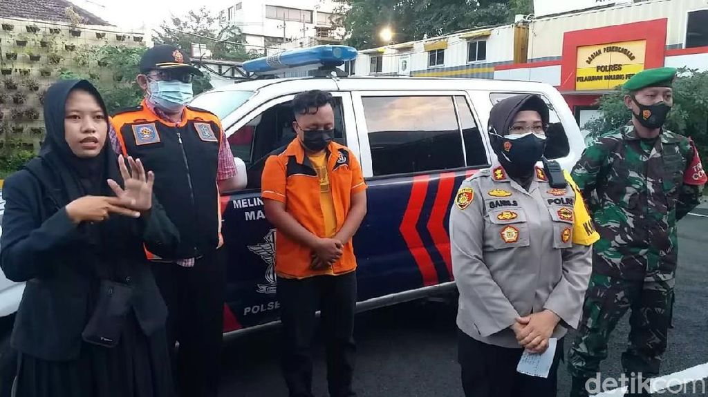 Polisi Tangkap Provokator Kericuhan Operasi PPKM Darurat di Surabaya