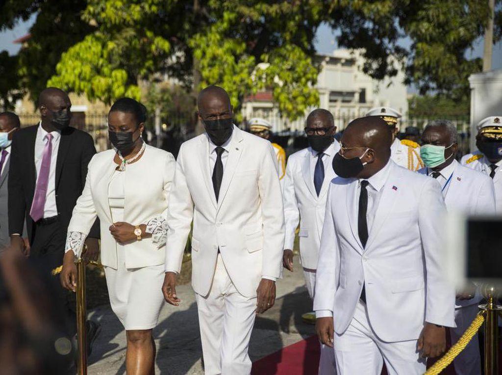 Kesaksian Istri Melihat Presiden Haiti Dibunuh Sekejap Mata