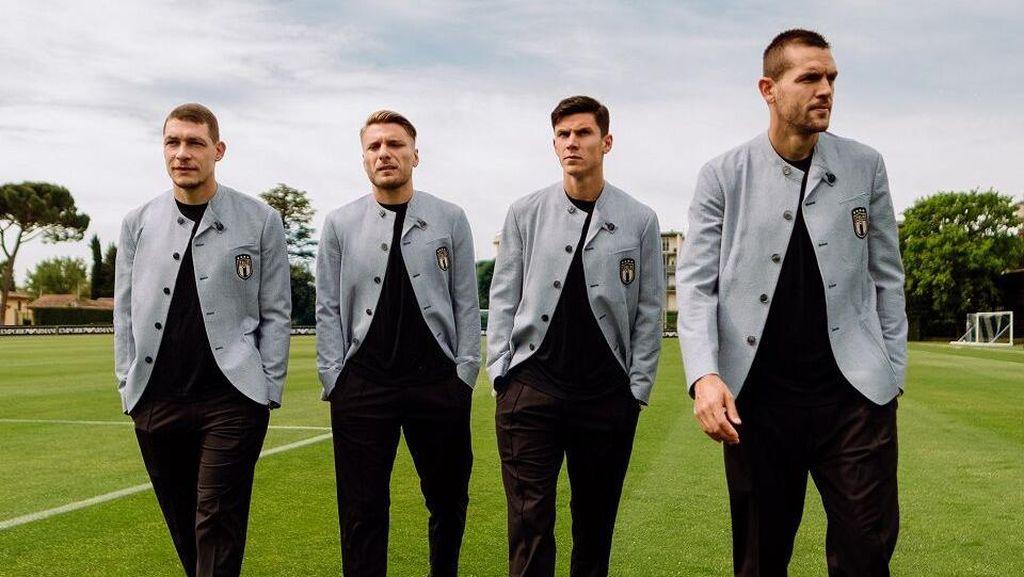 Jelang Final Euro 2020, Intip 5 Potret Penampilan Stylish Timnas Italia