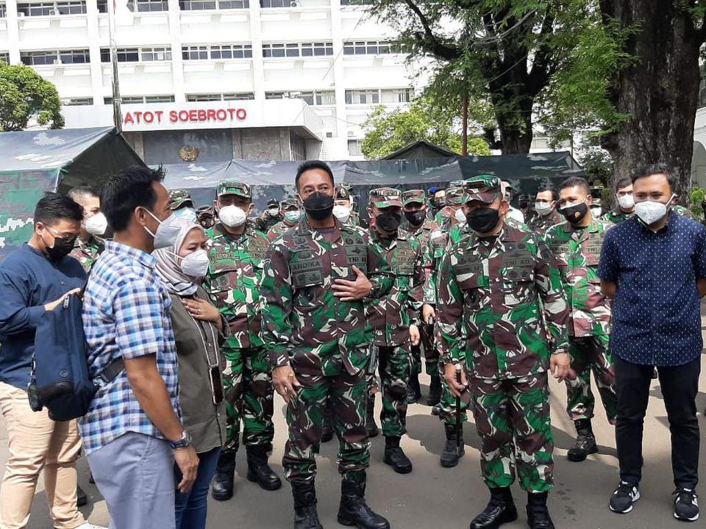 TNI Siapkan 30 Ribu Lebih Tenaga Tracer untuk Percepat 3T