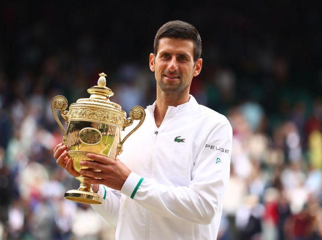 Novak Djokovic Juara Wimbledon 2021!