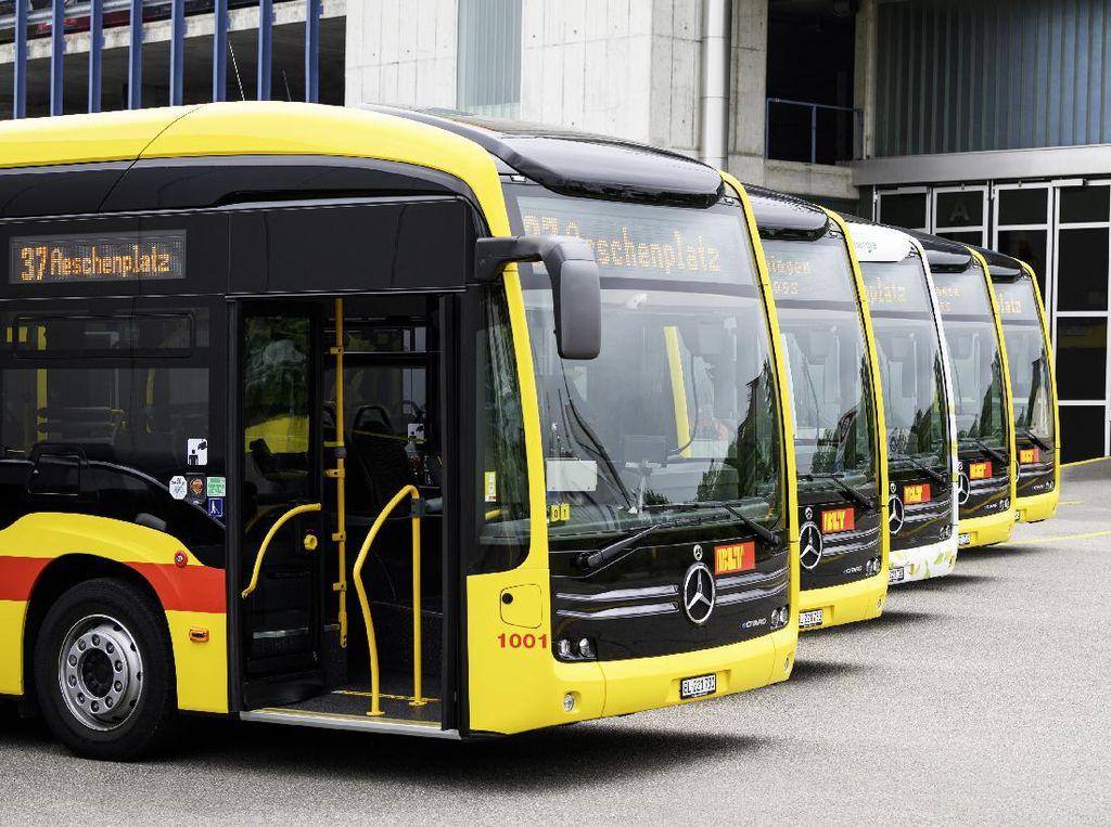 Kota Kecil di Swiss ini Pakai Bus Listrik untuk Transportasi Dalam Kotanya