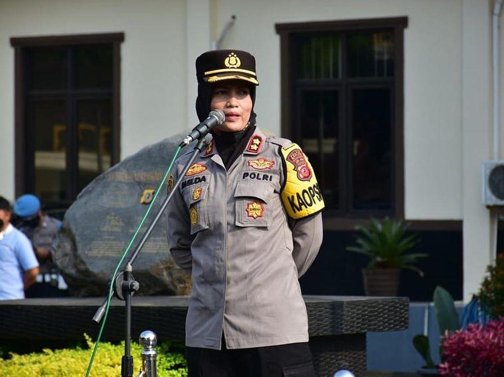 Kisah AKBP Melda Yanny, Polwan Pertama yang Ditunjuk Sebagai Kapolres Banjar