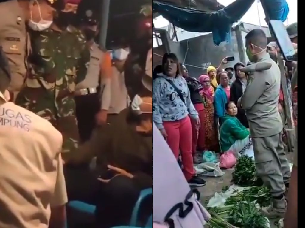5 Aksi Protes Pedagang Makanan saat PPKM Darurat ini Bikin Netizen Iba