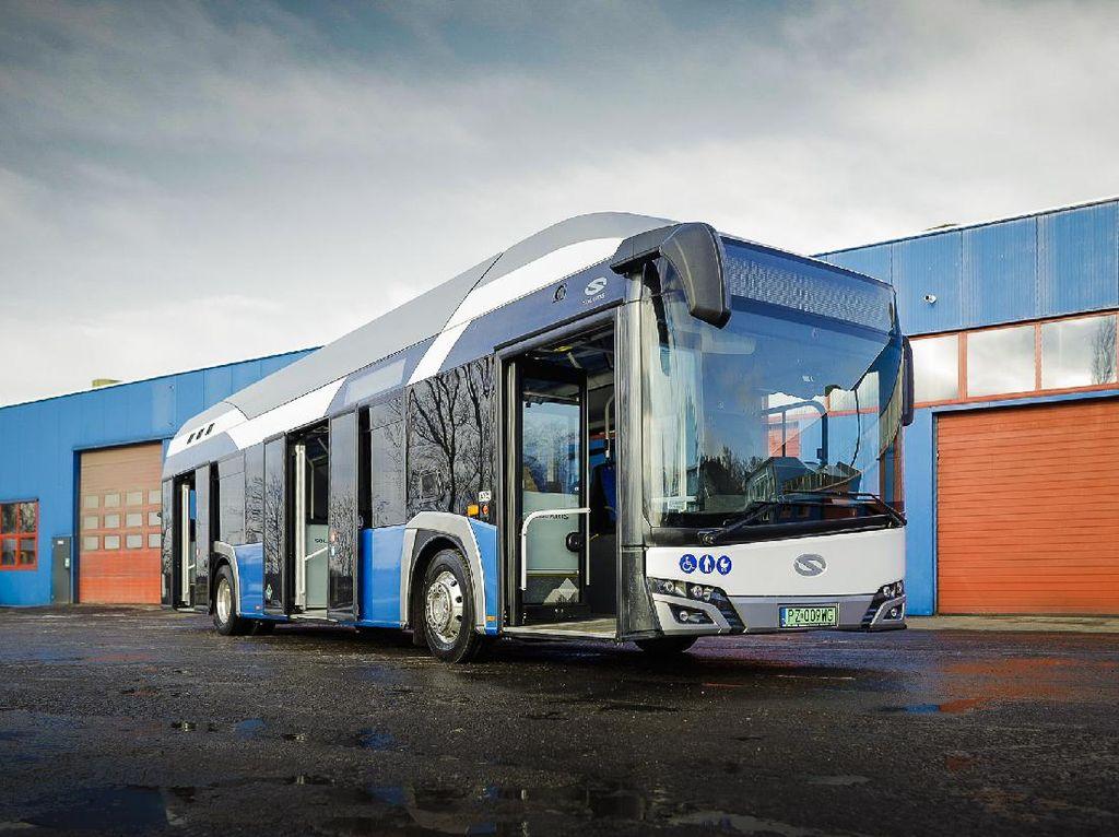 Bukan Bus Listrik, Polandia Akan Pakai Bus Hidrogen untuk Transportasi Umum