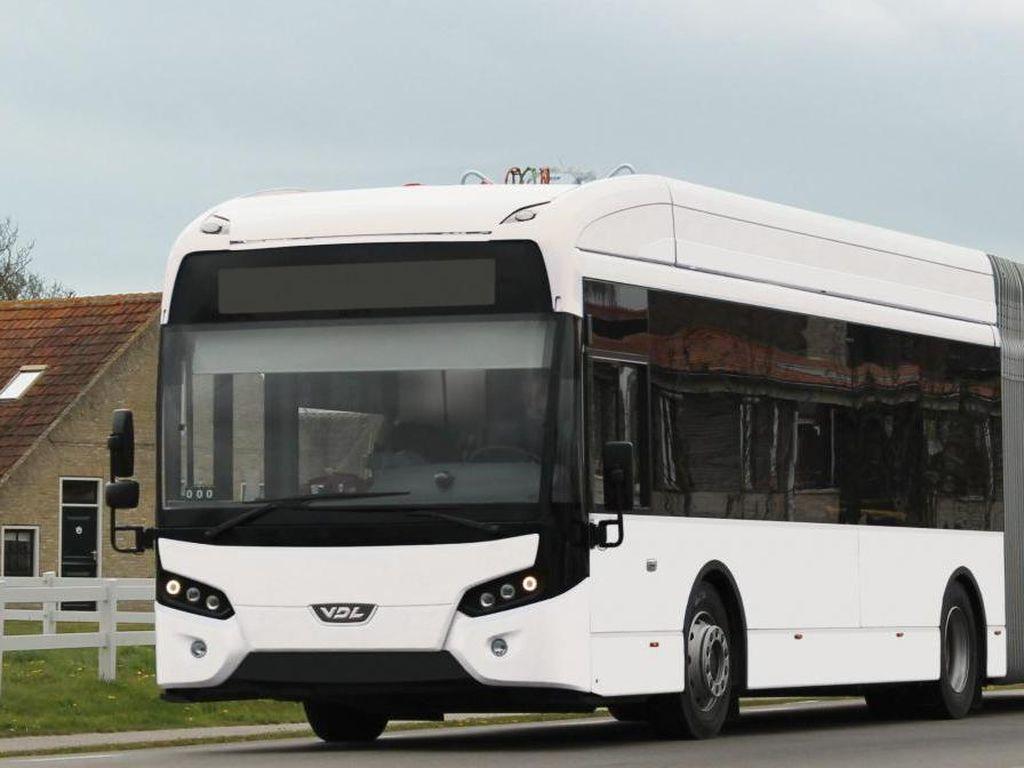 Makin Banyak Bus Listrik Wara-wiri di Amsterdam, Ini Penampakannya