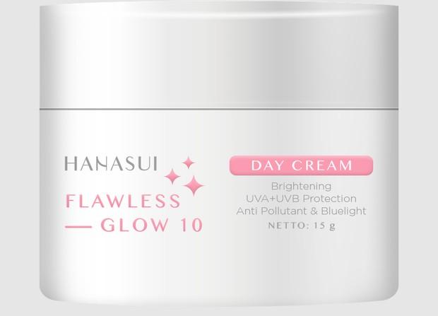 Hanasui Flawless Glow 10 Day Cream / foto: hanasui.id