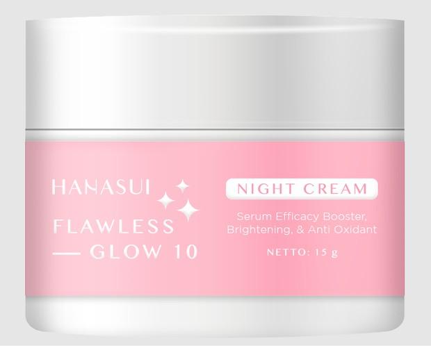 Hanasui Flawless Glow 10 Night Cream / foto: hanasui.id