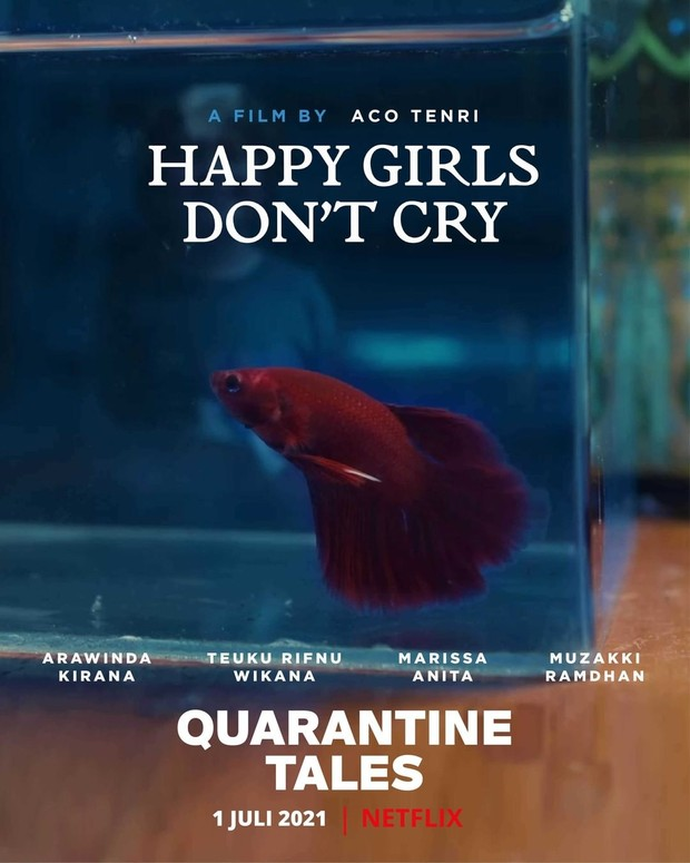 Happy Girls Don't Cry dalam film Quarantine Tales