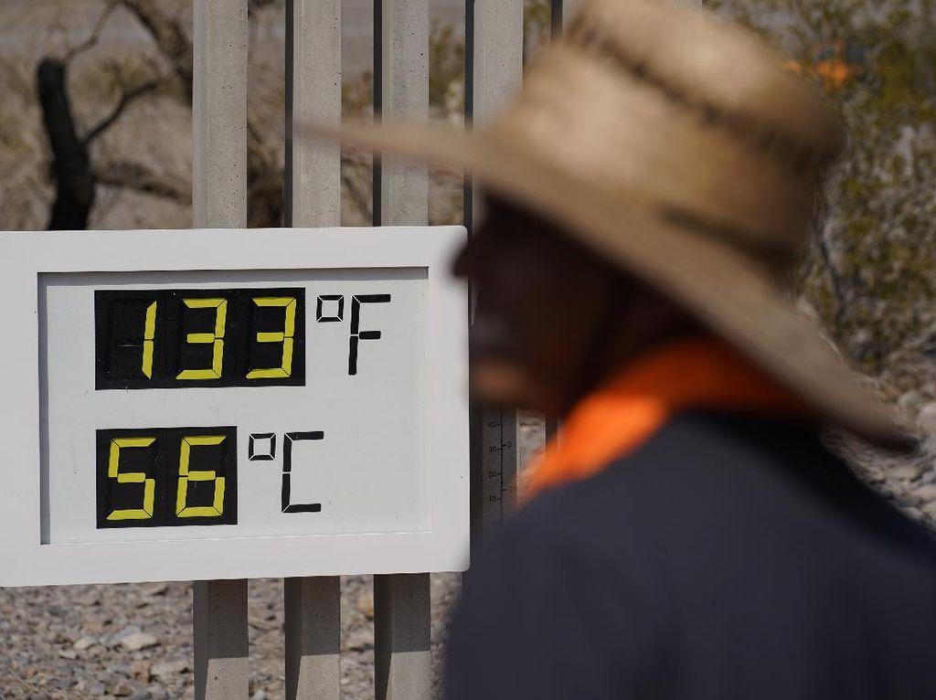 Amerika Makin Panas, Suhu di Lembah Kematian Tembus 56 Derajat Celsius!
