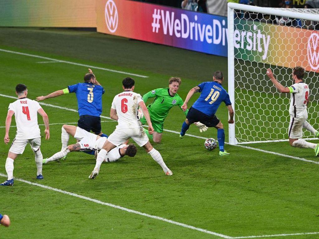 7 Fakta Usai Italia Vs Inggris di Final Euro 2020