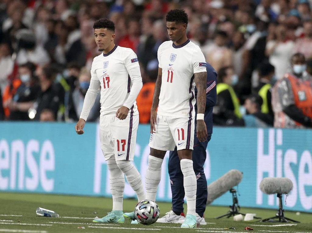 Rashford dan Sancho Liburan Bareng, Hilangkan Stres Usai Euro 2020