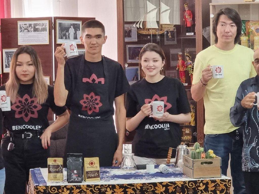 Keren! Kopi Bengkulu Bencoolen Coffee Kini Dipromosikan ke Kazakhstan