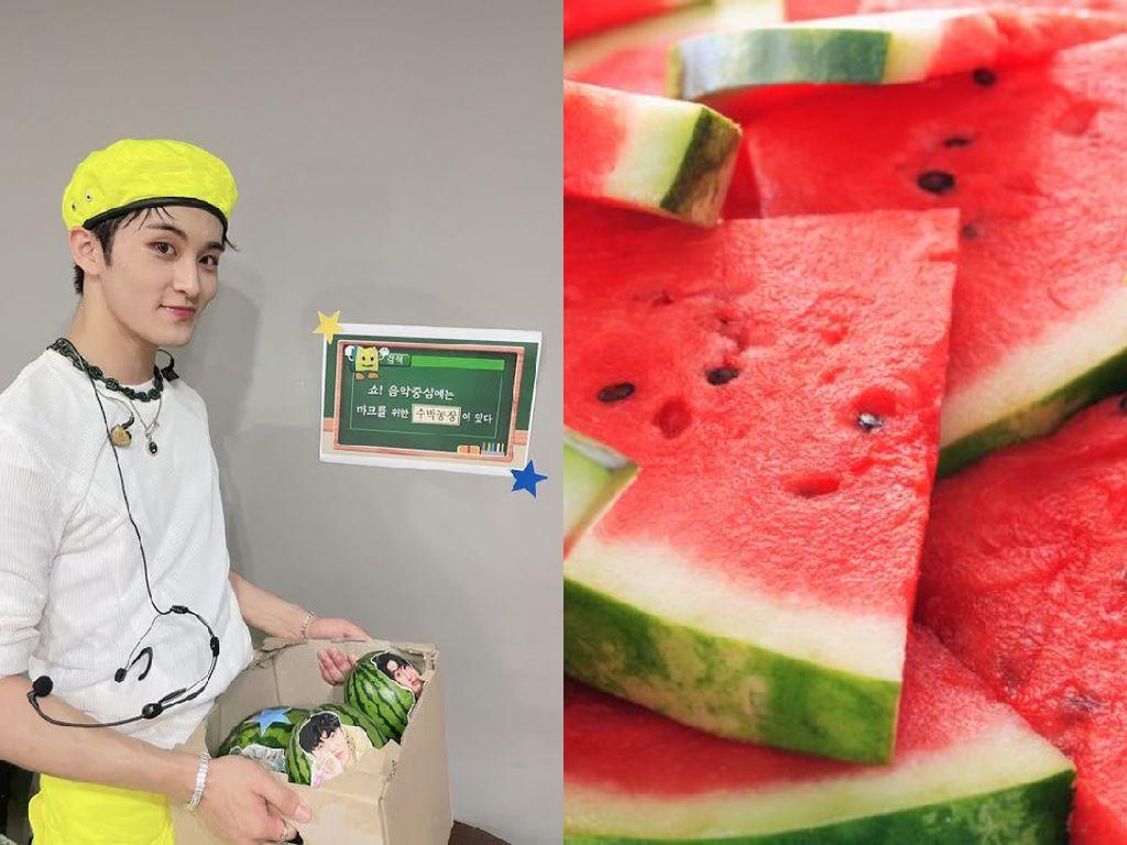Mark NCT Doyan Makan Semangka Dicampur Nasi hingga Ham