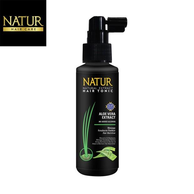 Natur Hair Tonic Aloe Vera (sumber : bukalapak.com/natur)
