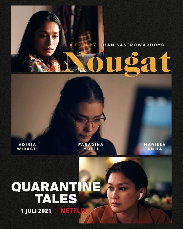 Nougat dalam film Quarantine Tales