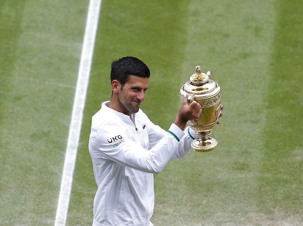 Djokovic Sudah Punya 20 Gelar Gland Slam, Sejajar Federer & Nadal