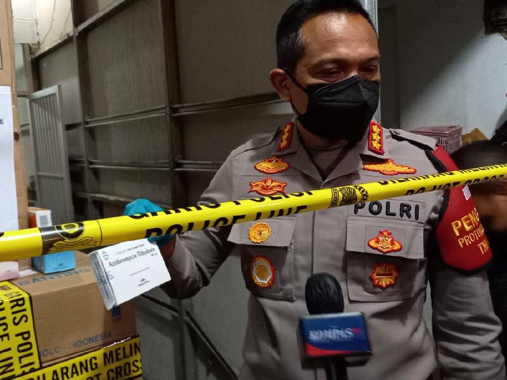 Bos Perusahaan Tersangka Penimbunan Azithromycin di Jakbar Tak Ditahan
