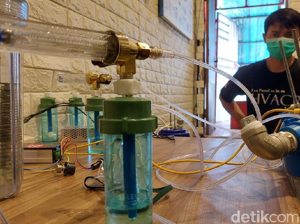 Oxygen Maker dari Cimahi Ini Bisa Bantu Kelangkaan Oksigen Lho