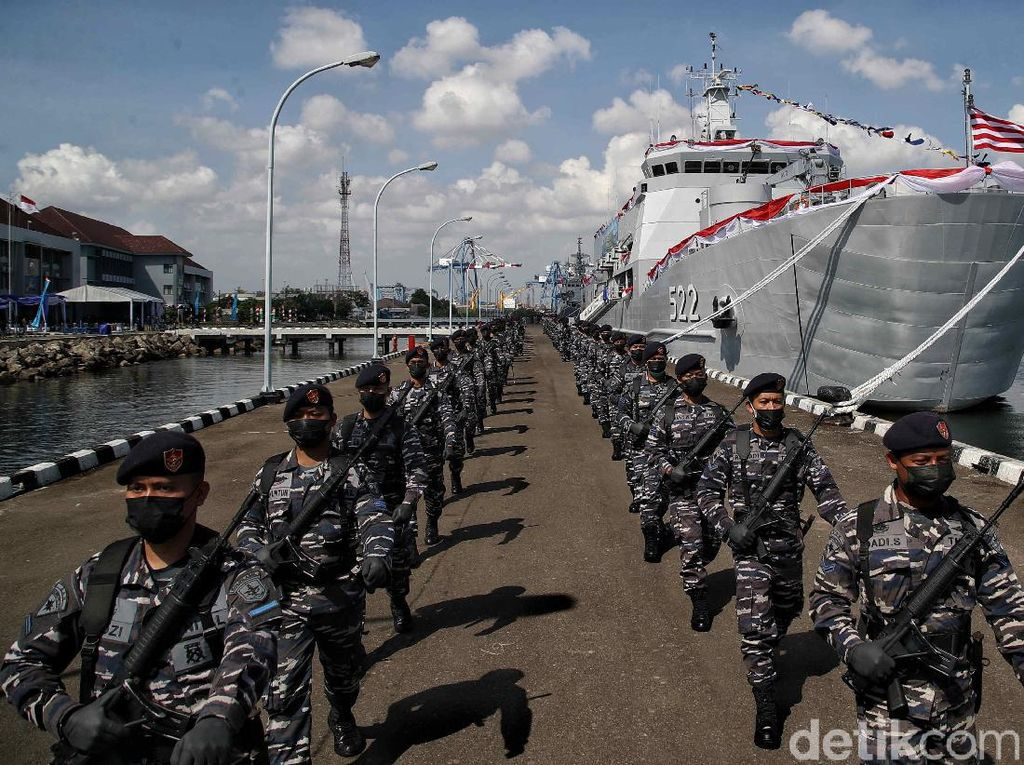Potret Peresmian Kapal Terbaru KRI Teluk Youtefa 522 TNI AL