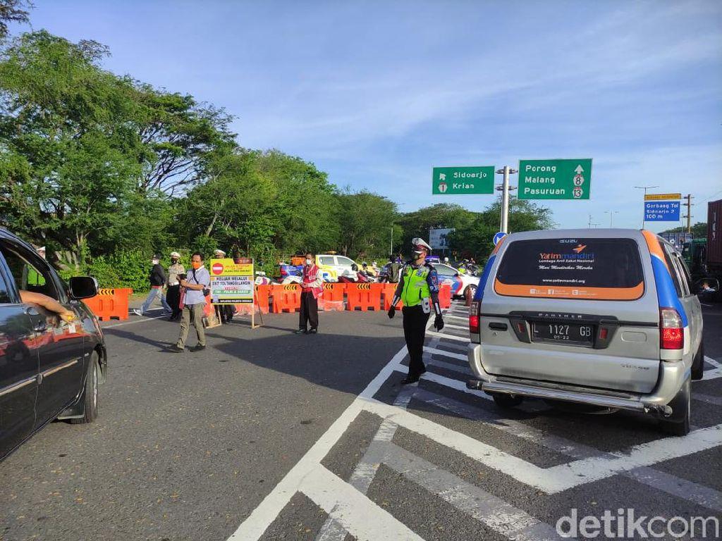 Terbaru, 12 Exit Tol di  Jatim Ditutup Selama PPKM Darurat