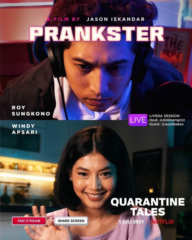 Prankster dalam film Quarantine Tales
