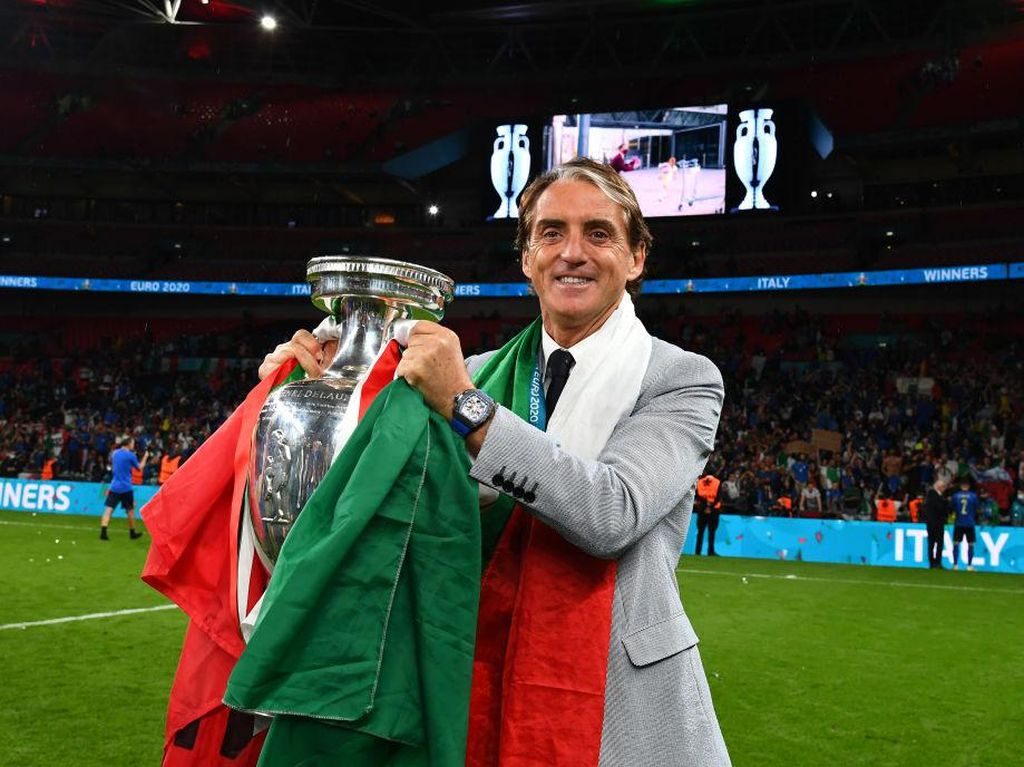 Italia Juara Euro 2020, 3 Tahun Kerja Keras Mancini Berbuah Manis