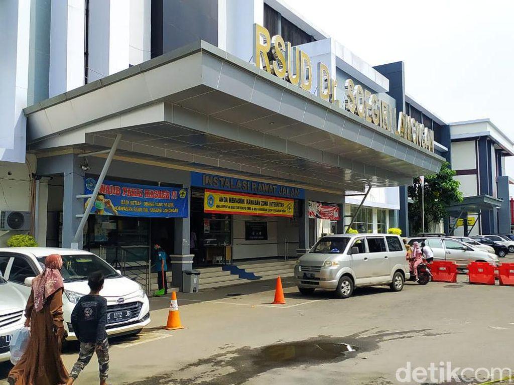 150 dari 250 Nakes di RSUD dr Soegiri Lamongan Terpapar COVID-19