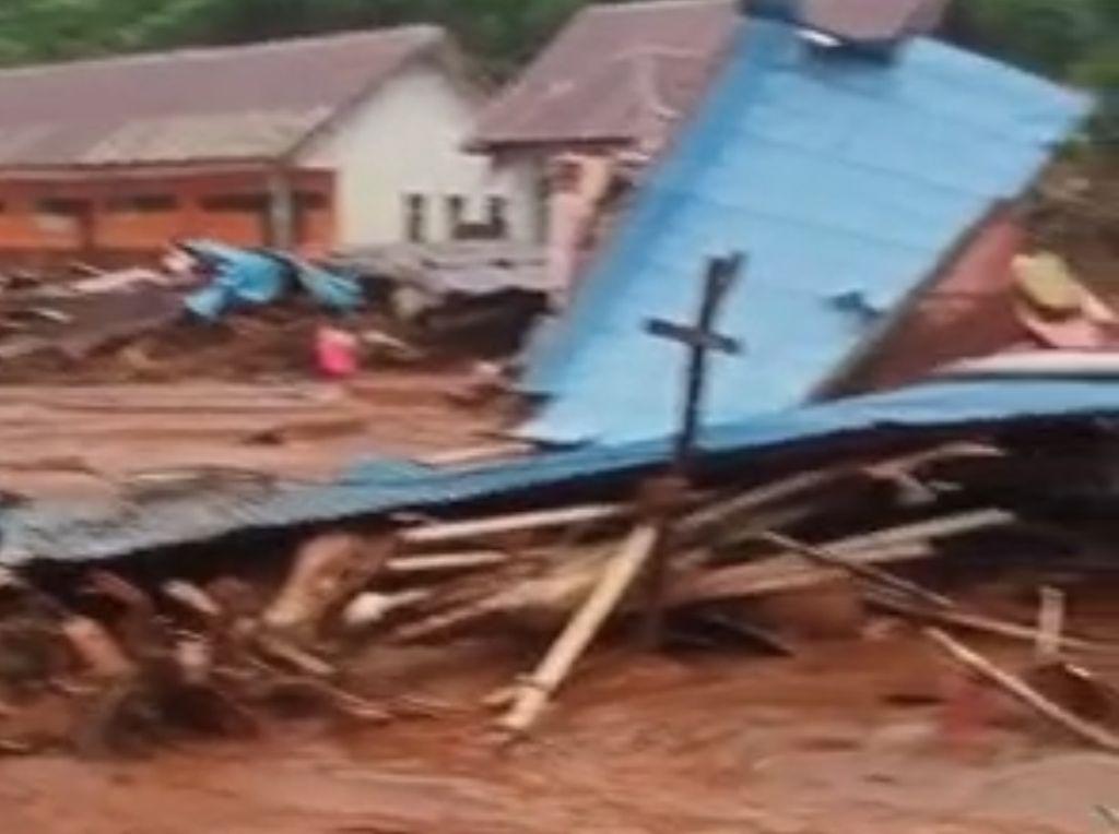 Konawe Utara Sultra Diterjang Longsor, 24 Rumah dan 1 Sekolah Rusak