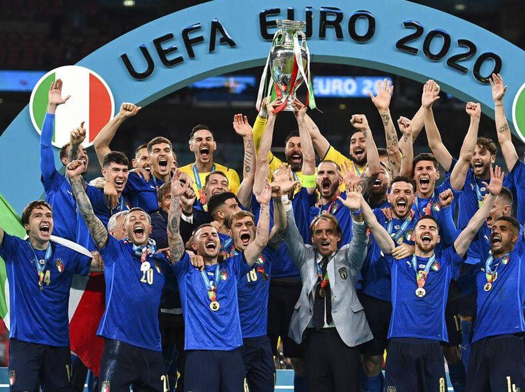 Inilah Susunan 11 Pemain Terbaik Euro 2020 Versi UEFA