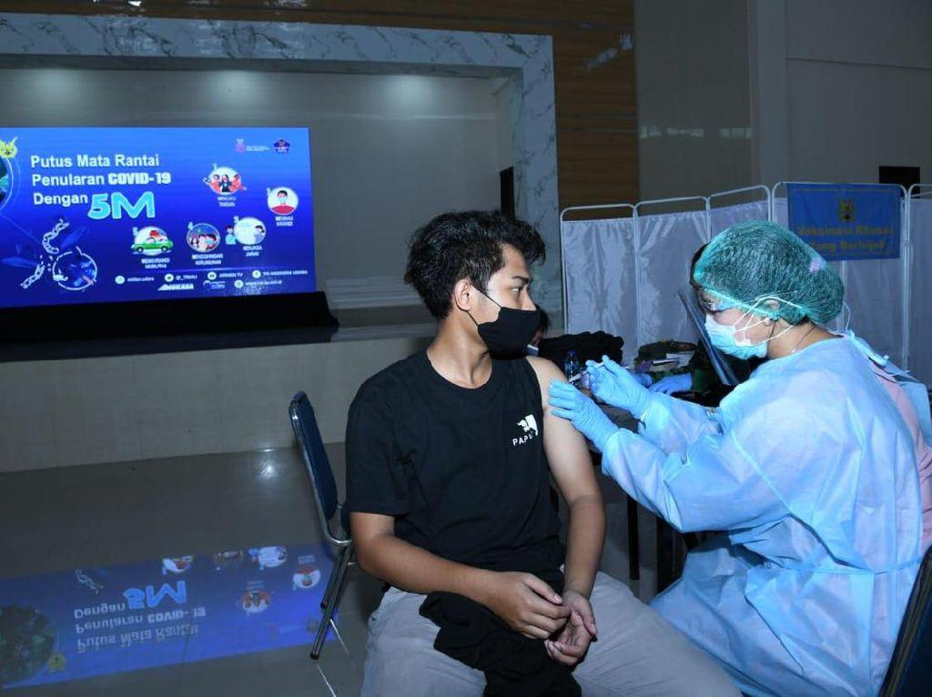 10 Ribu Warga Ditarget Ikut Vaksin COVID di Markas Pasukan Elite TNI AU