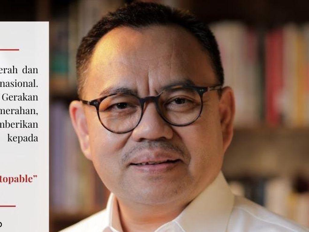 Sekjen PMI Sudirman Said Ingatkan Warga Jangan Kendur Prokes
