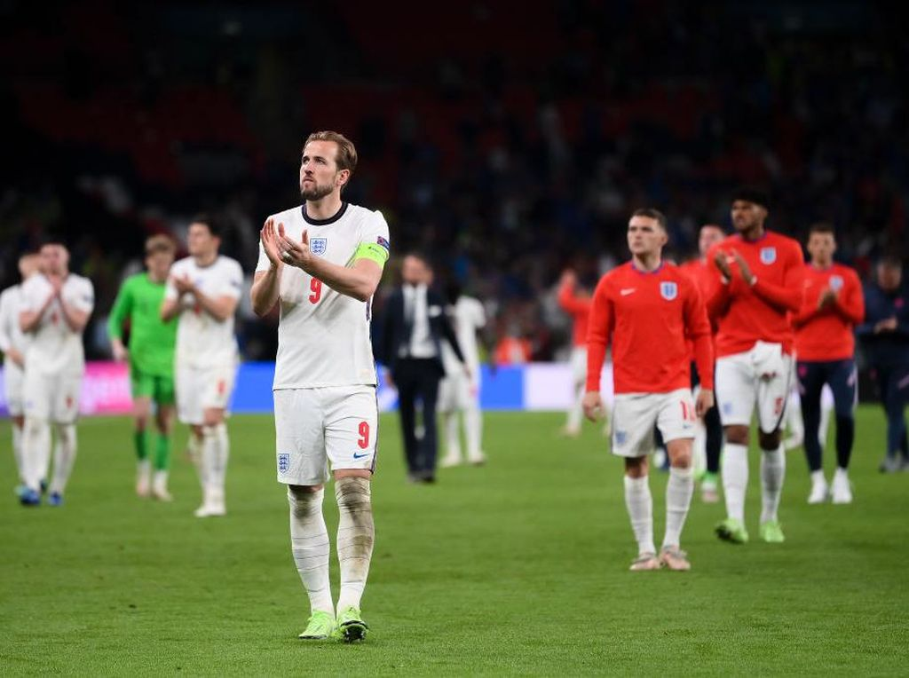 Inggris Kalah Terhormat di Final Euro 2020