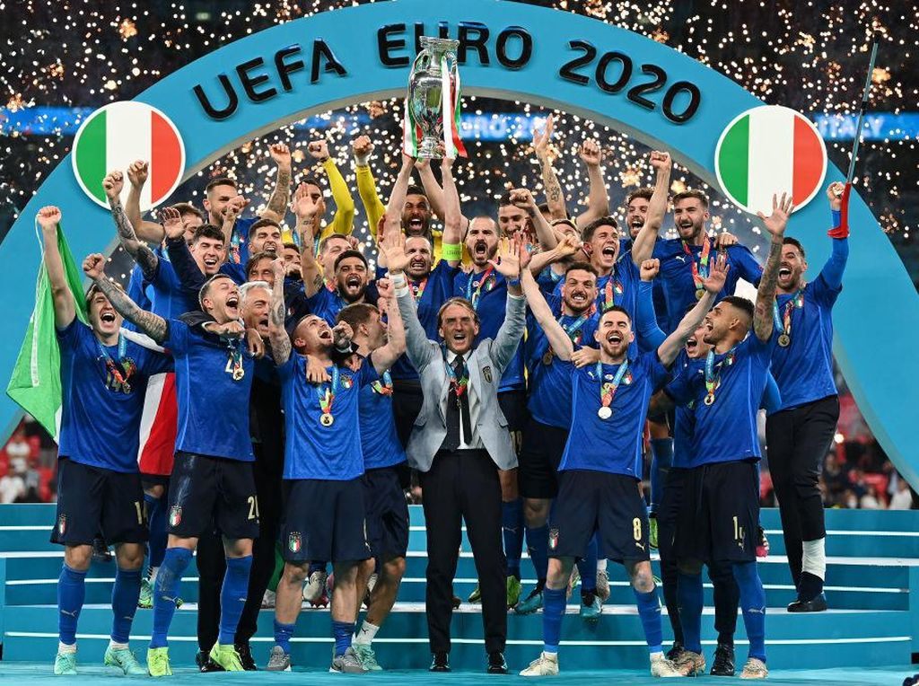 Penggawa Italia Dapat Gelar Kehormatan Usai Juara Euro 2020
