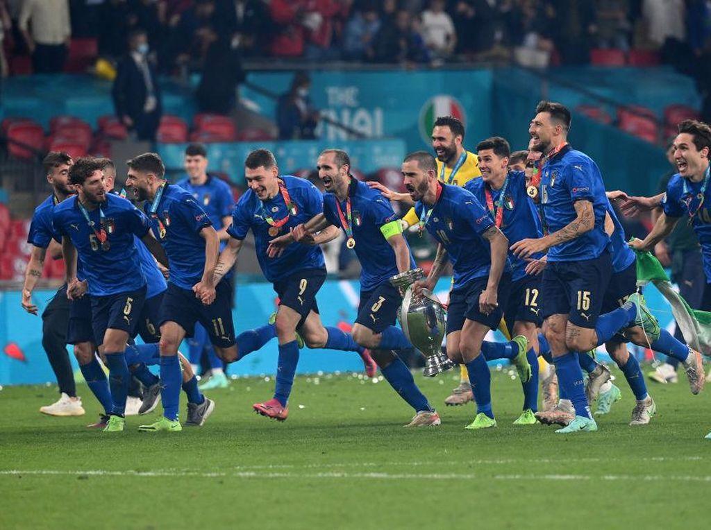 Italia Patahkan Kutukan Adu Penalti untuk Menangi Piala Eropa 2020